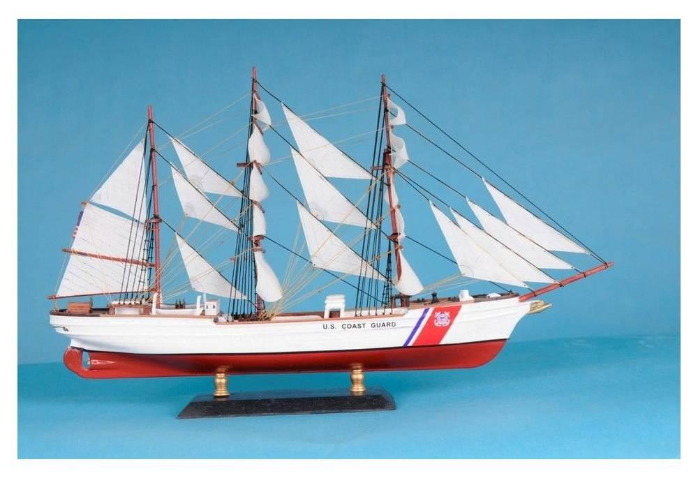 Uscg Eagle Replica Wooden Scaled Model Ship