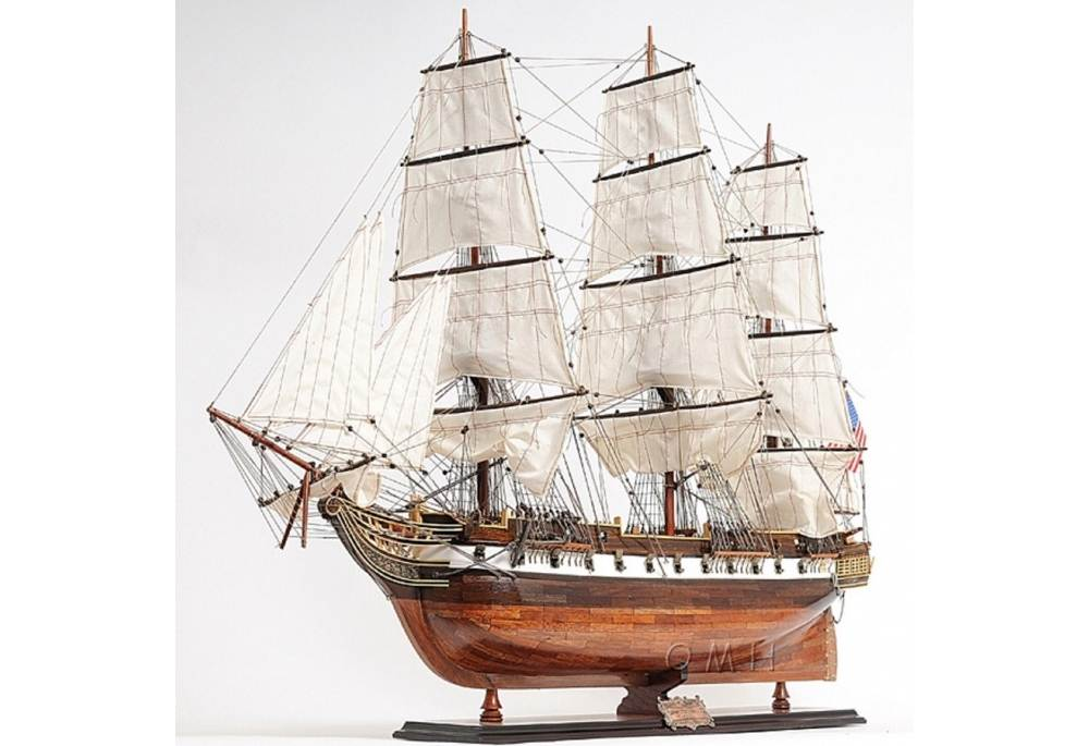 Famous Tall Ship Wooden Model Uss Constellation