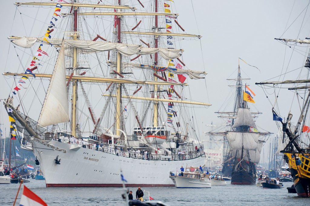 amsterdam tall ship parade 2015
