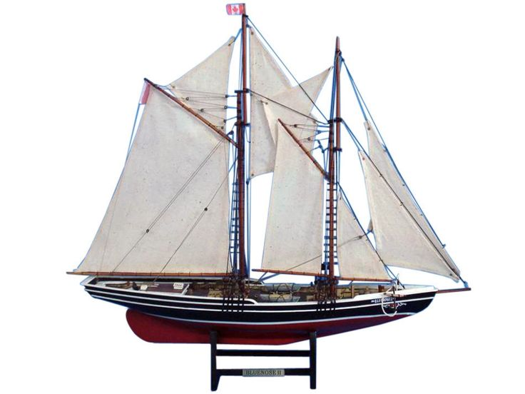 Bluenose II Schooner Model