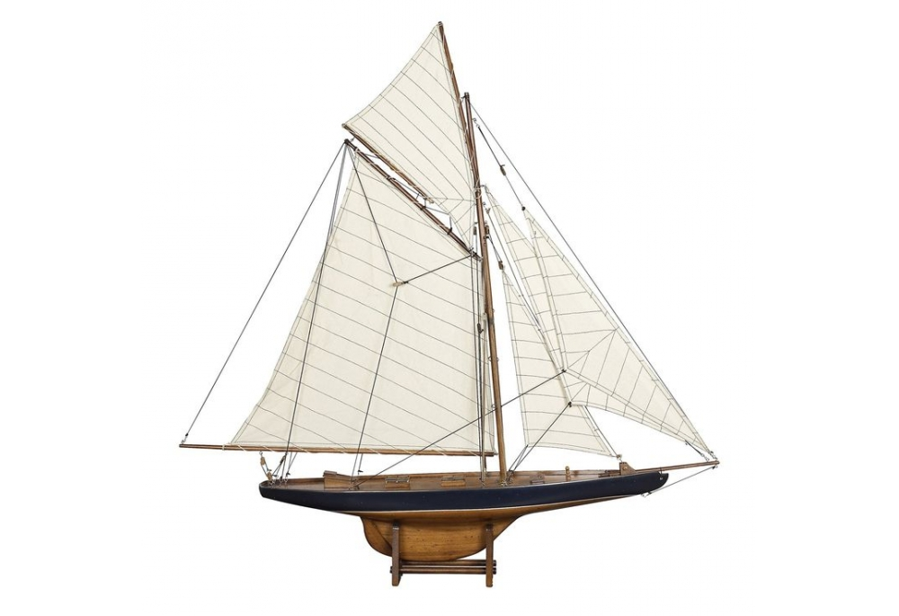 America's Cup J Class Sailboat Model Columbia