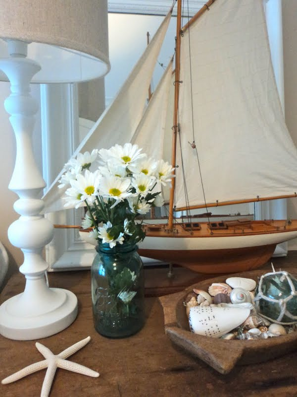 decorating withsailboat model