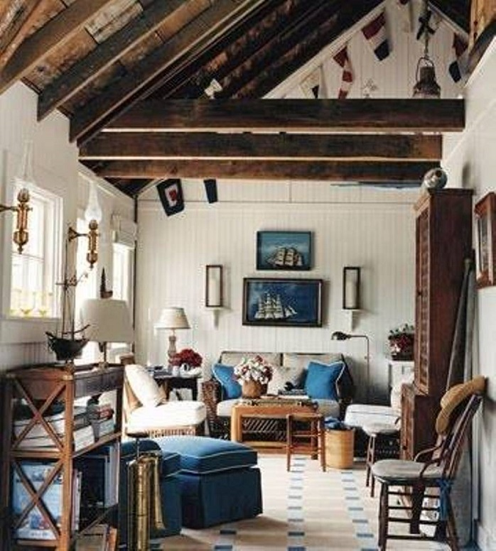 rustic nautical home design - Nautical Design Ideas