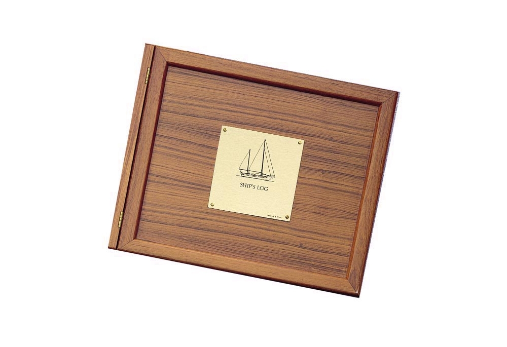 teak-log-cover-with-sailboat-plate