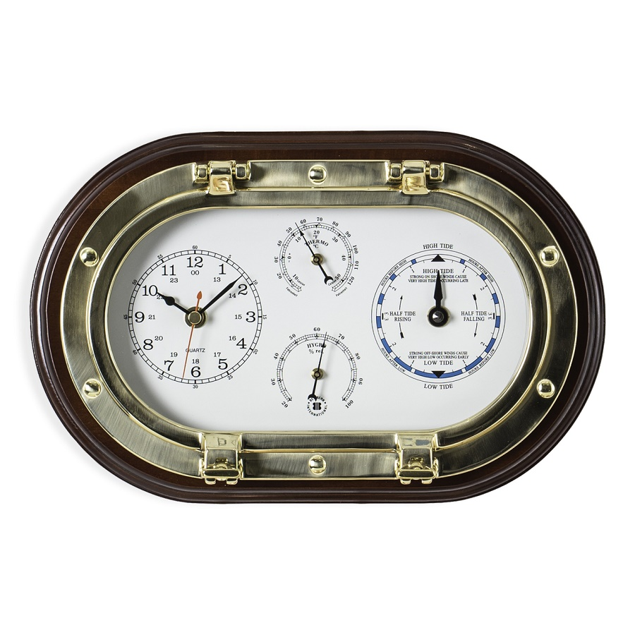 brass-porthole-clock-tide-clock-thermo-hygro-on-mahogany-wooden-plaque