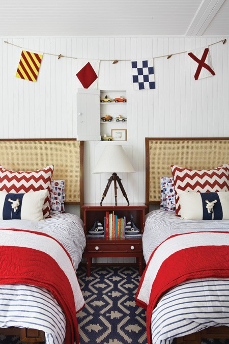 Nautical Flags Kids Room