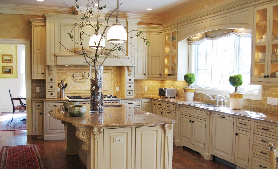 Tuscan Kitchen Design