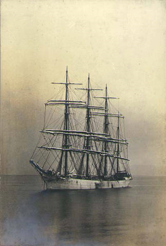 British four masted bark SAMARITAN
