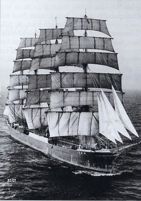 Four Masted Barque Pamir