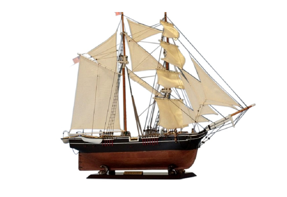 Kate Cory Wooden Tall Ship Model
