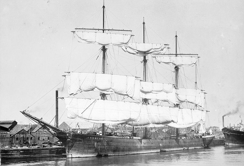 Pommern Four Masted Barque