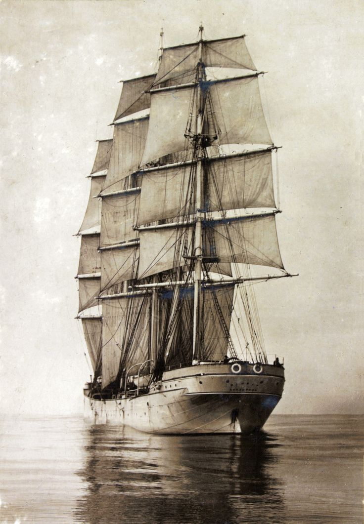 Sailing Ship Mersey 1894