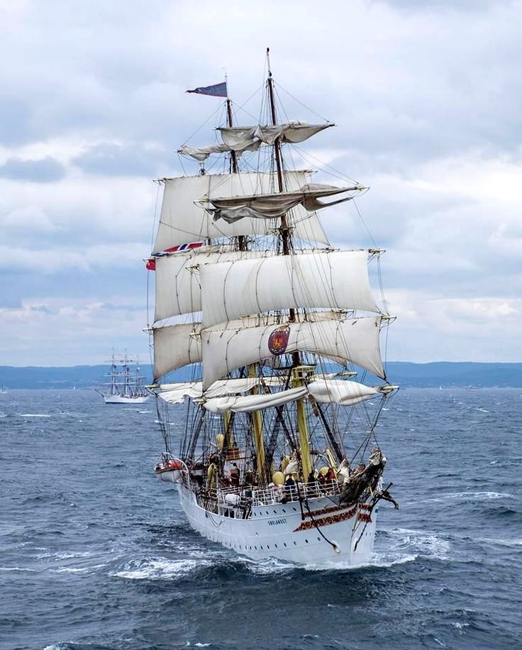 The Tall Ships Races. The Christian Radich - 2015