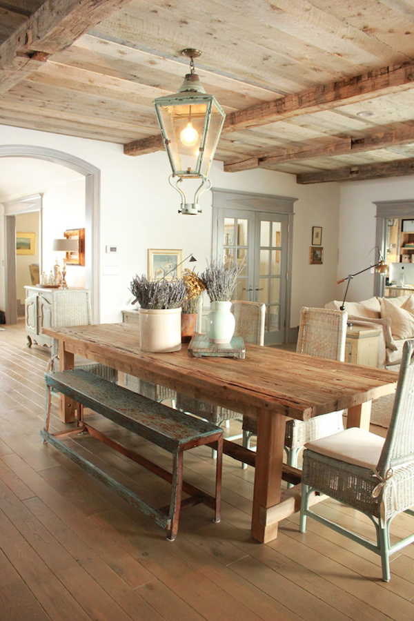 Beach House Rustic and Industrial Accent Interior Design with ...