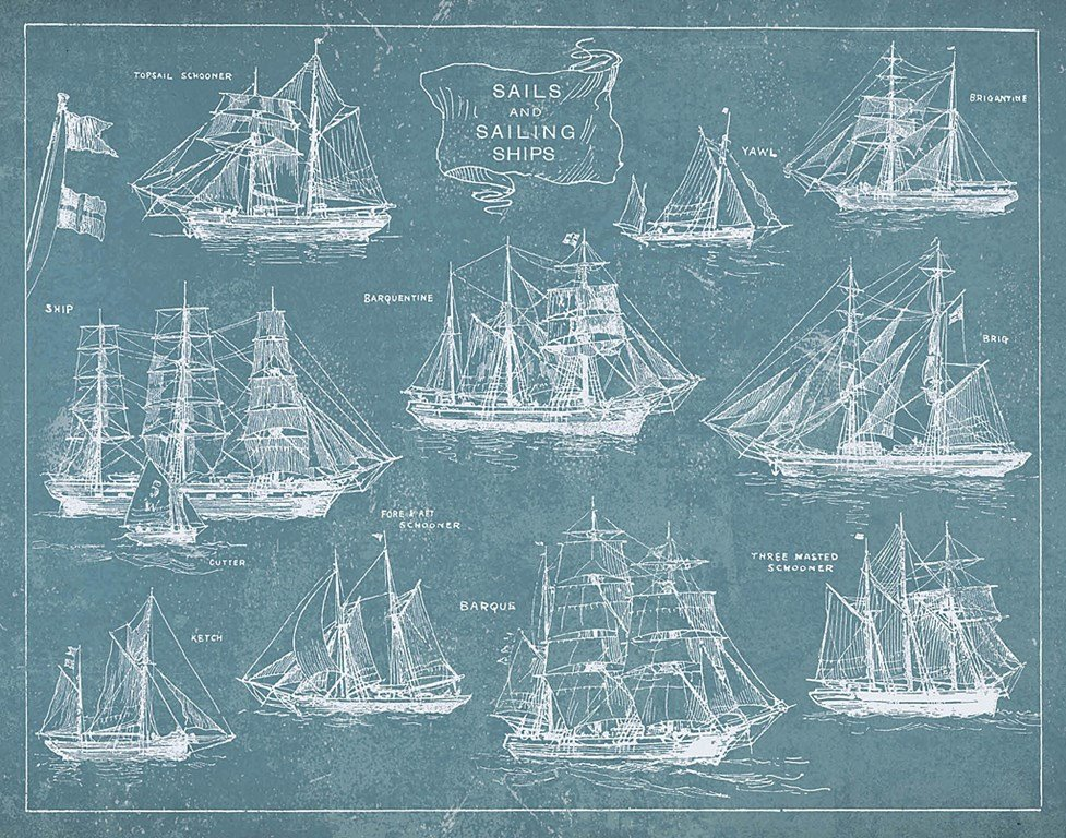 sailing ships and rigging (2)
