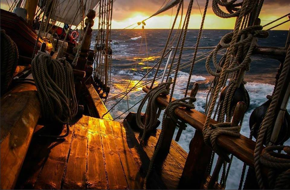 On Board of a Tall Ship