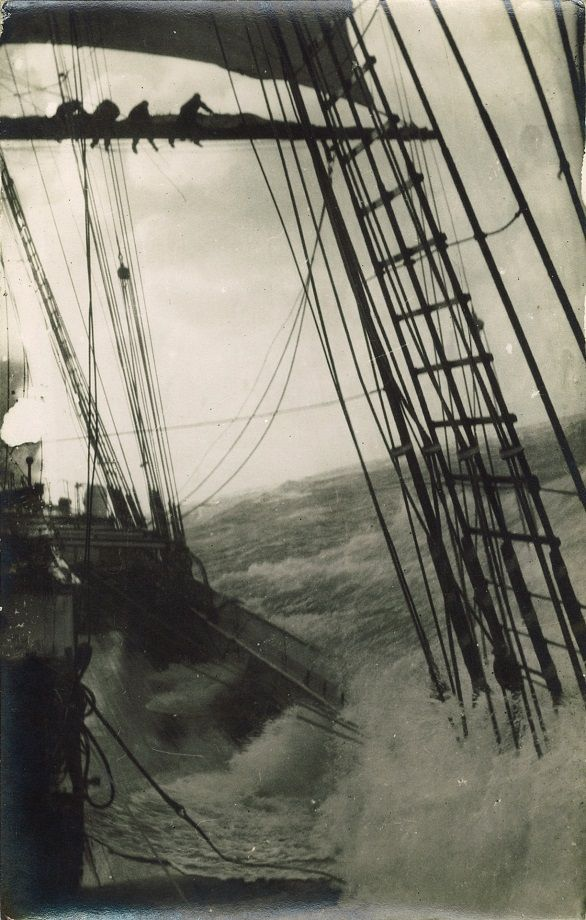 Sailing Ship In The Storm