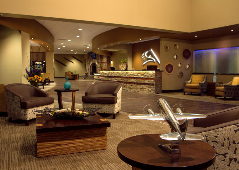 aviation themed decor