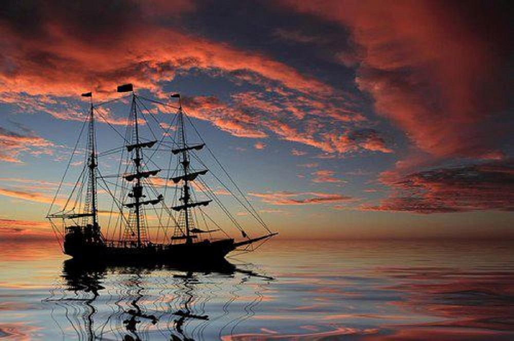 Tall Ship Sunset