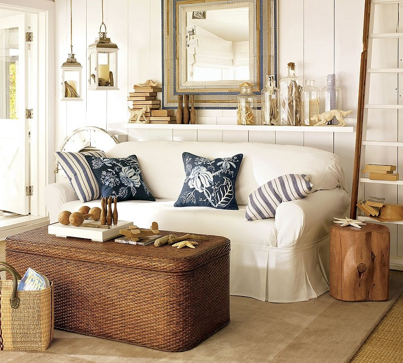 coastal decorating idea