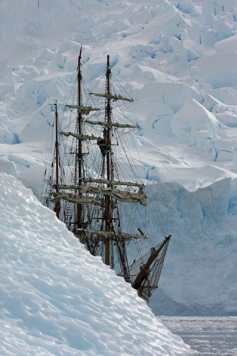 Arctic Sailing Ship