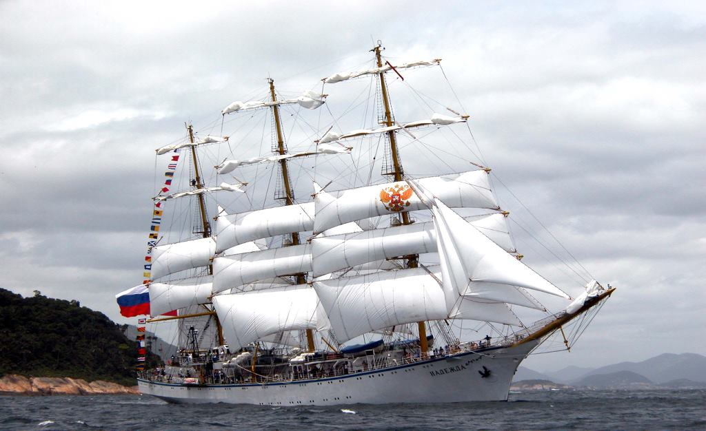 Tall Ship Nadezhda