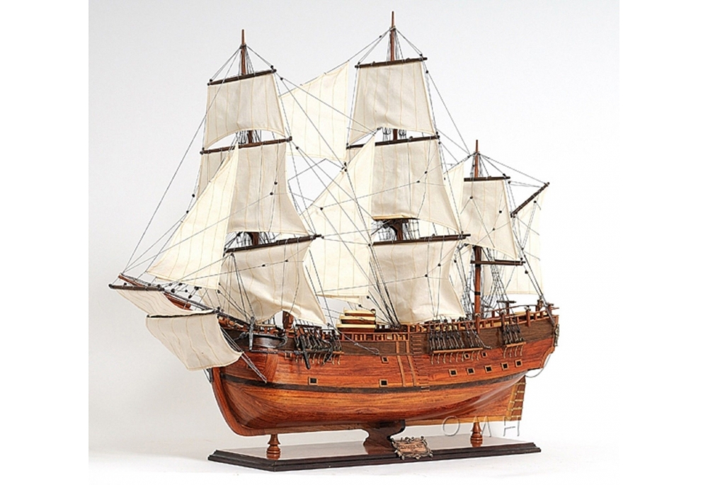 hms-endeavour-tall-ship-model