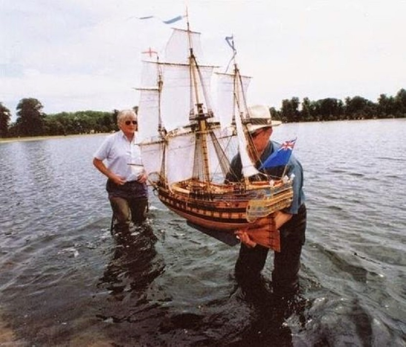 Large Decorative Model Ships