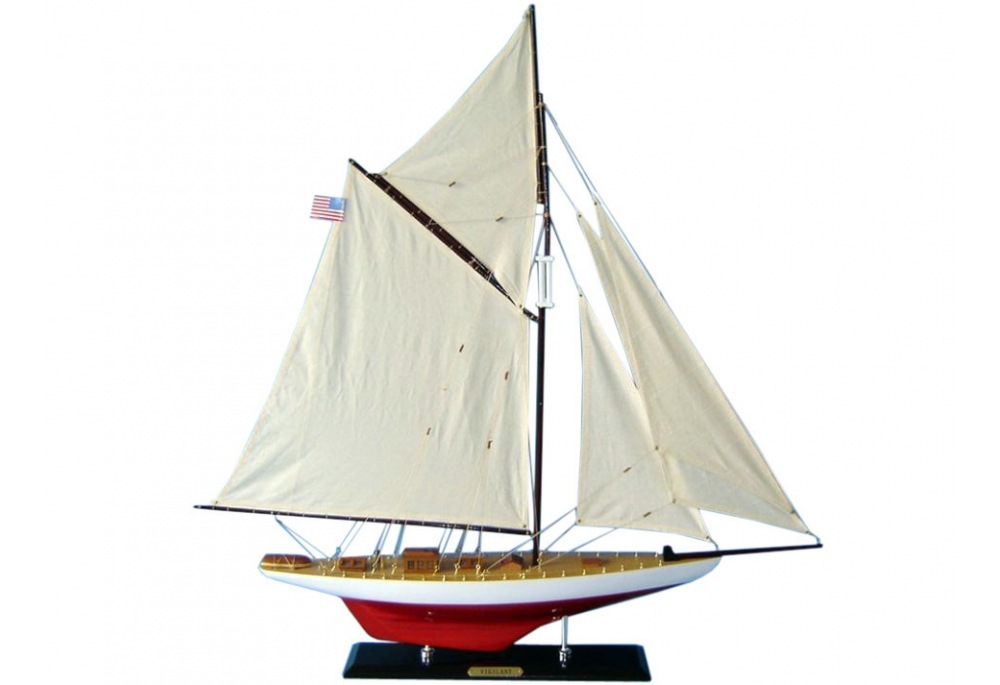 america-s-cup-vigilant-sailboat-model