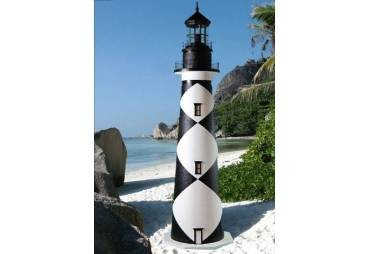 Cape Lookout Electric Lawn Lighthouse 5'