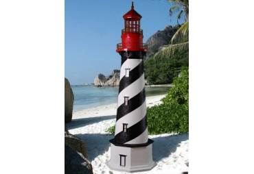 """Custom Crafted Electric Lawn St. Augustine Lighthouse 60"""" (5 Feet)"""