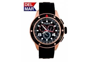 Men's 100 Meter Rugged Sport Chrono Watch Copper