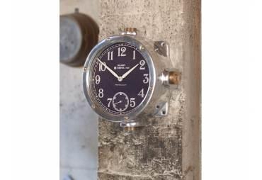 Aluminum Navy Master Clock