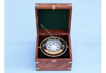 """Brass Gimble Compass 6"""""""