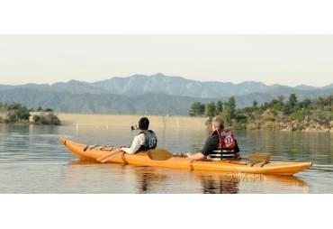 Red Cedar Handmade Wooden Kayak 2 persons