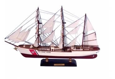"""United States Coast Guard (USCG) Eagle Limited Edition Tall Model Ship 21"""""""