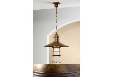 One Light Hanging Pendant from the Ancora Collection