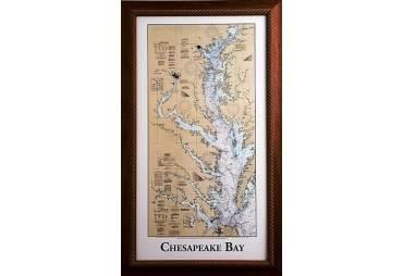 Chesapeake Bay Nautical Chart