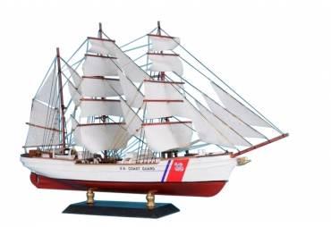 """United States Coast Guard (USCG) Eagle Limited Tall Model Ship 15"""""""