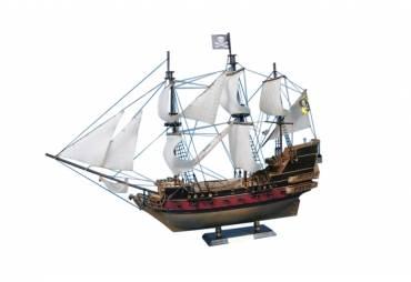"Captain Kidd's Black Falcon 24"" - White Sails"