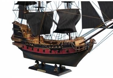 """Blackbeard's Queen Anne's Revenge Limited Model Pirate Ship 36"""""""