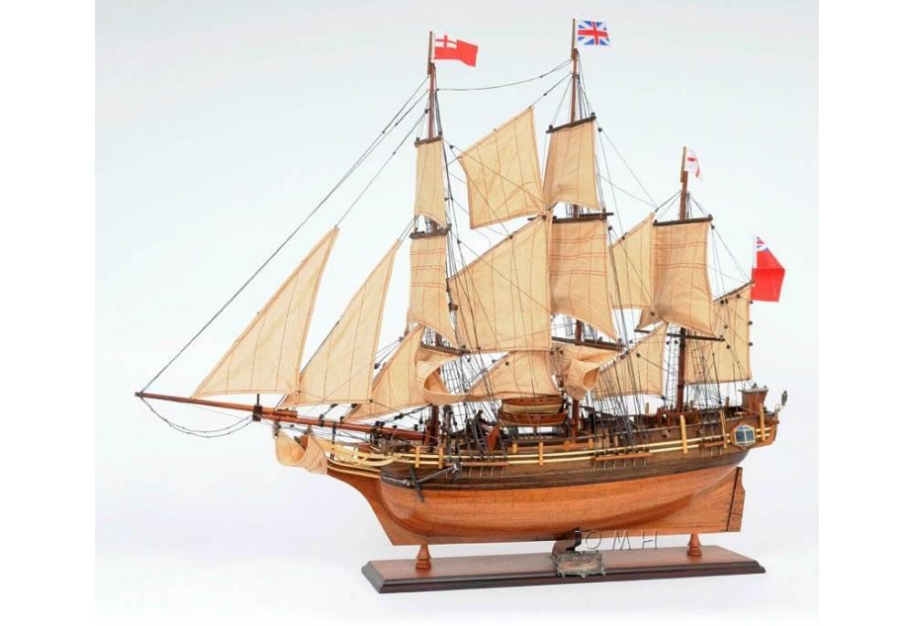 Model Ships > Historic Ships > HMS Bounty Tall Ship Model