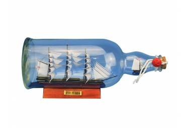 """Star of India Ship in the Bottle 11"""""""