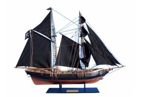 Pirate Ship Model Sailboat Black Prince