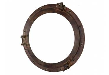 "Rustic Aluminum Porthole Window 20'"""