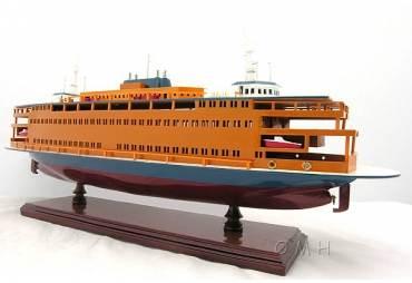 Staten Island Ferry Boat Model