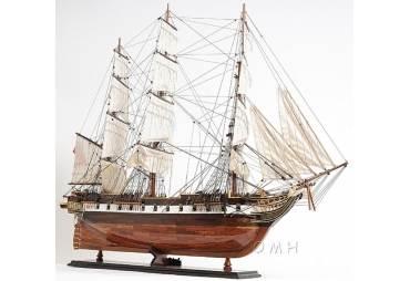 "USS Constellation Wooden Tall Ship Model 38"""
