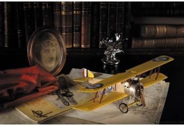 WWI Sopwith Camel Biplane Aircraft Model Aviation Decor