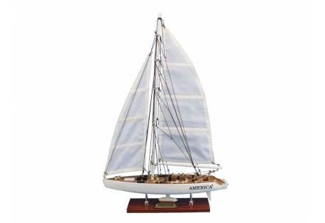"America³ 23"" Decorative Sailboat Model"
