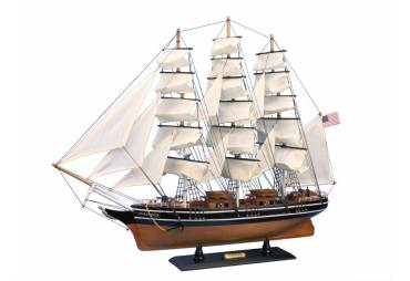 """Famous Clipper Wooden Model Ship Star Of India 30"""""""